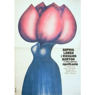 Brief Encounter Alan Bridges Romuald Socha Polish Film Posters