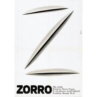 Zorro Romuald Socha Polish Film Posters