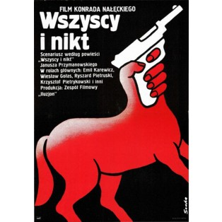 All and Nobody Romuald Socha Polish Film Posters