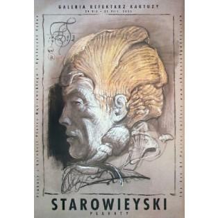 Starowieyski - Galeria Refektarz Kartuzy Franciszek Starowieyski Polish Exhibition Posters