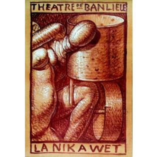 La nik a wet Franciszek Starowieyski Polish Theater Posters