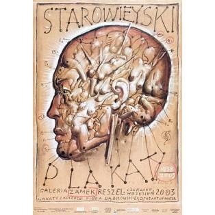Starowieyski - Galeria Zamek Reszel Franciszek Starowieyski Polish Exhibition Posters