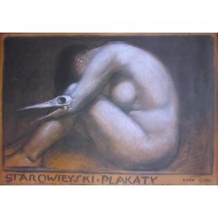 Starowieyski - Posters in Legnica Franciszek Starowieyski Polish Exhibition Posters