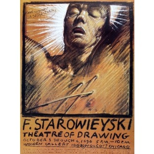 Theatre of Drawing Franciszek Starowieyski Polish Exhibition Posters