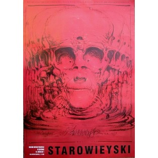 Eternity exhibition at the Museum of Industrial History  Franciszek Starowieyski Polish Exhibition Posters