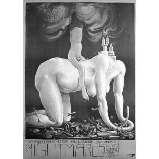 Nighmares Wojciech Marczewski Franciszek Starowieyski Polish Film Posters