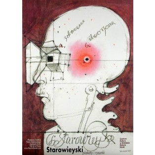 Posters and drawings Franciszek Starowieyski Polish Exhibition Posters