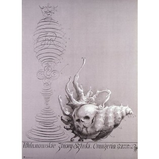 Wilanów Art Collection Franciszek Starowieyski Polish Exhibition Posters