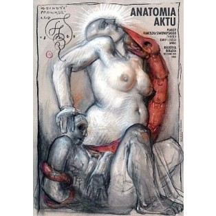 Anatomy of the Act Liberty Leading the People  Franciszek Starowieyski Polish Exhibition Posters