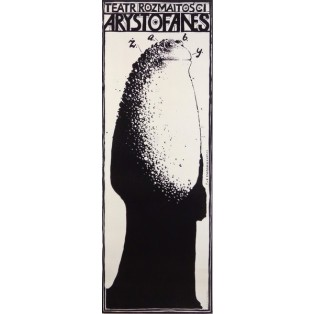 Frogs Aristophanes  Franciszek Starowieyski Polish Theater Posters
