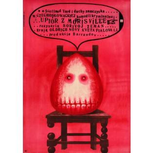 Phantom of Morrisville Borivoj Zeman Franciszek Starowieyski Polish Film Posters
