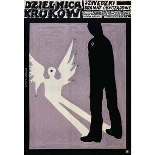 Raven's End Bo Widerberg Franciszek Starowieyski Polish Film Posters