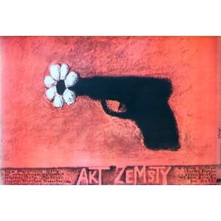 Act of Vengeance John Mackenzie Stasys Eidrigevicius Polish Film Posters