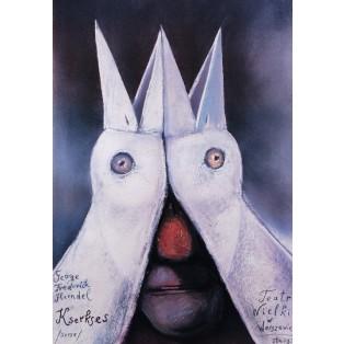 Serse Stasys Eidrigevicius Polish Theater Posters