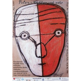 Poland Neighbour and more Stasys Eidrigevicius Polish Exhibition Posters