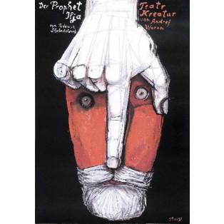 Prophet Ilja Stasys Eidrigevicius Polish Theater Posters