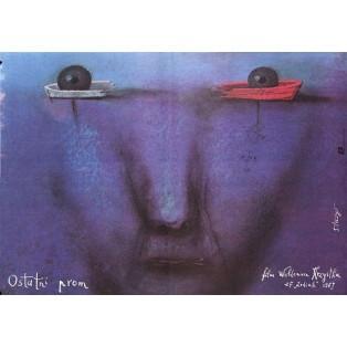 Last Ferry Waldemar Krzystek Stasys Eidrigevicius Polish Film Posters