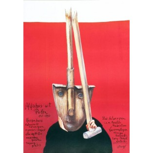 Affiches uit Polen Antwerpen Stasys Eidrigevicius Polish Exhibition Posters
