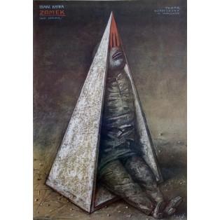 Castle Franz Kafka Stasys Eidrigevicius Polish Theater Posters