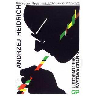 Andrzej Heidrich Waldemar Świerzy Polish Exhibition Posters