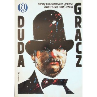 Duda Gracz Pictures from the country 2000 Waldemar Świerzy Polish Exhibition Posters