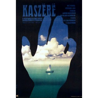 Kashebe, Legend of Love Ryszard Ber Waldemar Świerzy Polish Film Posters