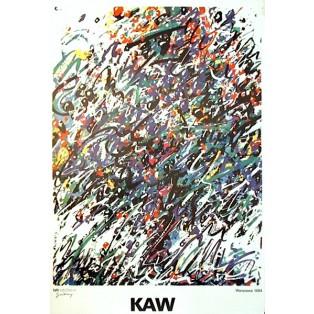 KAW Krajowa Agencja Wydawnicza Waldemar Świerzy Polish Poster Art Advertising Tourism Travels Political Sport Judaica Posters