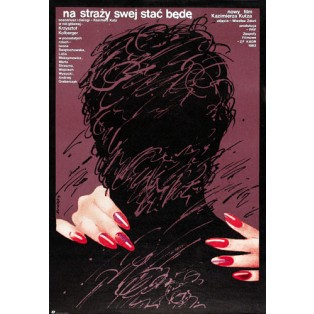I Shall Always Stand Guard Waldemar Świerzy Polish Film Posters