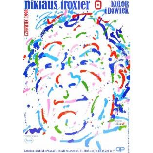 Niclaus Troxler Waldemar Świerzy Polish Exhibition Posters