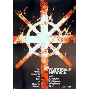 Pastorale Heroica Henryk Bielski Waldemar Świerzy Polish Film Posters