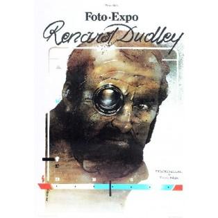 Renard Dudley Foto Expo Waldemar Świerzy Polish Exhibition Posters