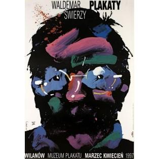 Waldemar Świerzy Posters Poster Museum Wilanów Waldemar Świerzy Polish Exhibition Posters