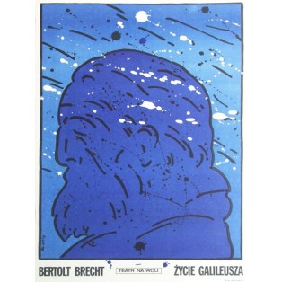 Life of Galileo Waldemar Świerzy Polish Theater Posters