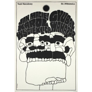 Jan Maciej Karol Hellcat, Gyubal Wahazar Waldemar Świerzy Polish Theater Posters