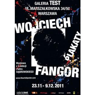 Wojciech Fangor Posters Gallery Test Waldemar Świerzy Polish Exhibition Posters