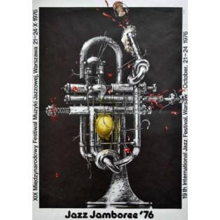 Jazz Jamboree 1976 Waldemar Świerzy Polish Music Posters