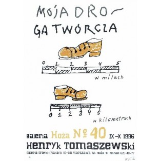 My way as artist Henryk Tomaszewski Polish Exhibition Posters