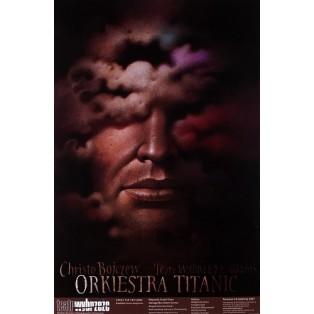 Titanic Orchestra Wiesław Wałkuski Polish Theater Posters