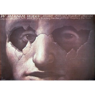 At Middle Age Qimin Wang Wiesław Wałkuski Polish Film Posters