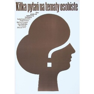 Some Interviews on Personal Matters Mieczysław Wasilewski Polish Film Posters