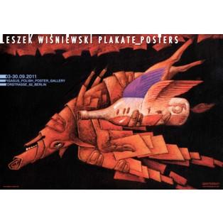 Leszek Wiśniewski Plakate Posters Leszek Wiśniewski Polish Exhibition Posters