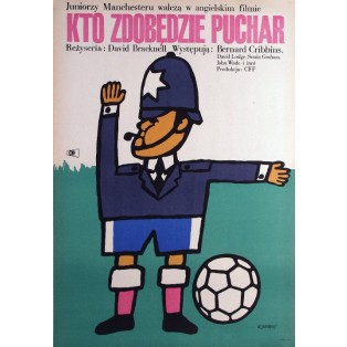 Cup Fever David Bracknell Maciej Żbikowski Polish Film Posters