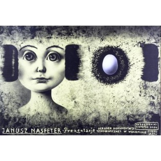 Janusz Nasfeter – Presentation Leszek Żebrowski Polish Exhibition Posters