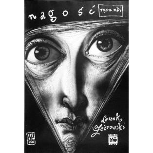 Nudeness Leszek Żebrowski Polish Exhibition Posters