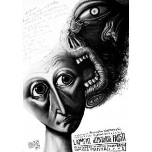 Whispers Leszek Żebrowski Polish Exhibition Posters