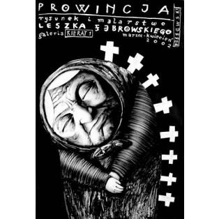 Prowincja Leszek Żebrowski Polish Exhibition Posters