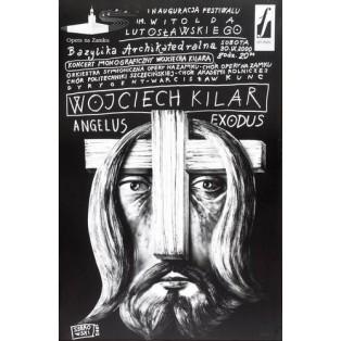 Wojciech Kilar Angelus Exodus Leszek Żebrowski Polish Music Posters