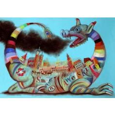 Wawel Dragon Cracow Smog Wawelski