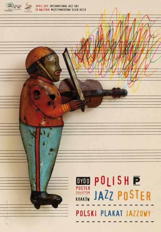 Tomasz Bogusławski Polish Jazz Poster Międzynarodowy dzień jazzu