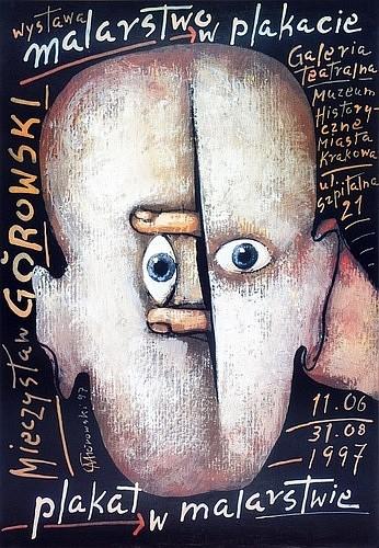 Malerei im Plakat